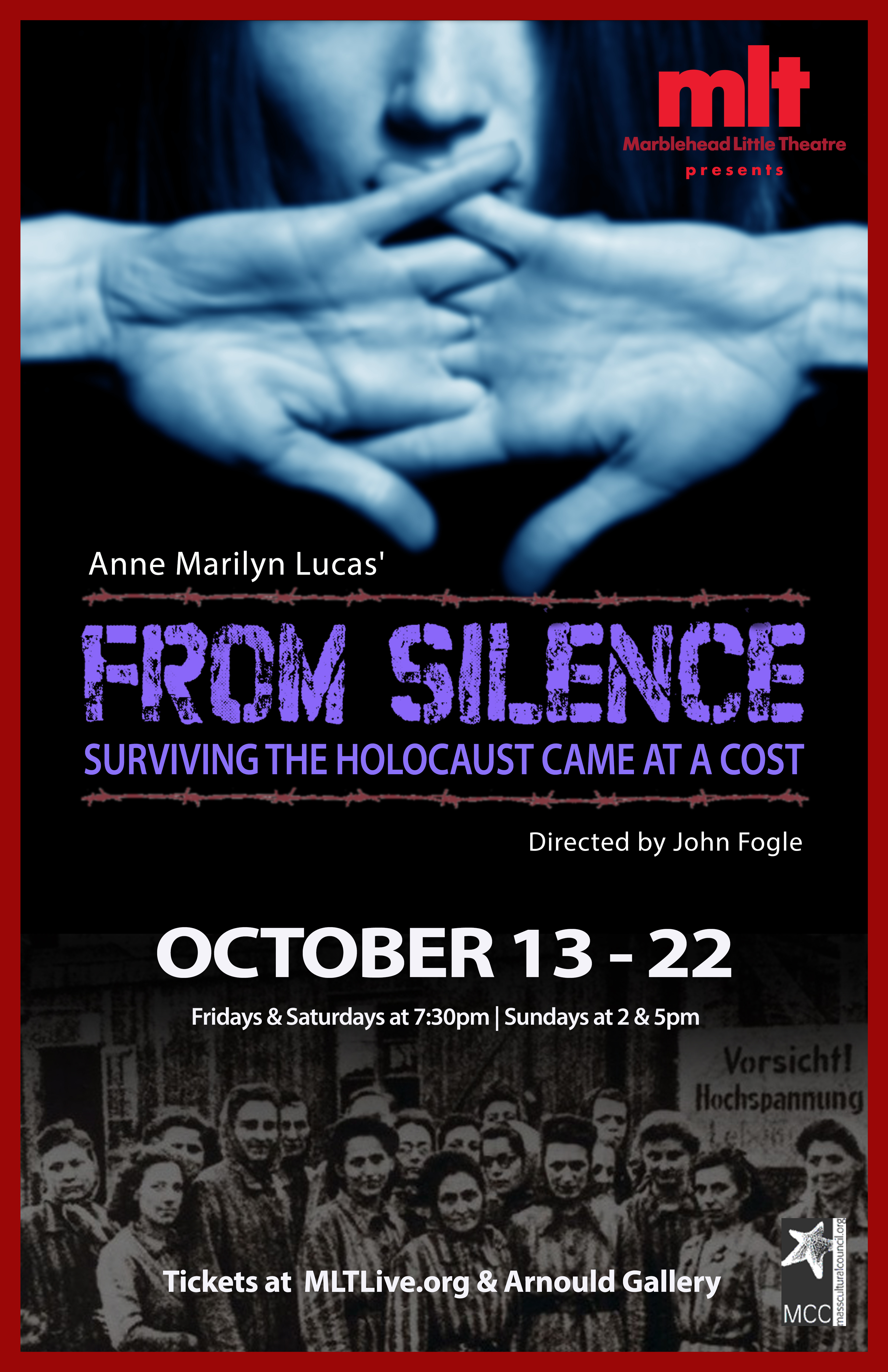 FROM SILENCE-poster-5pm