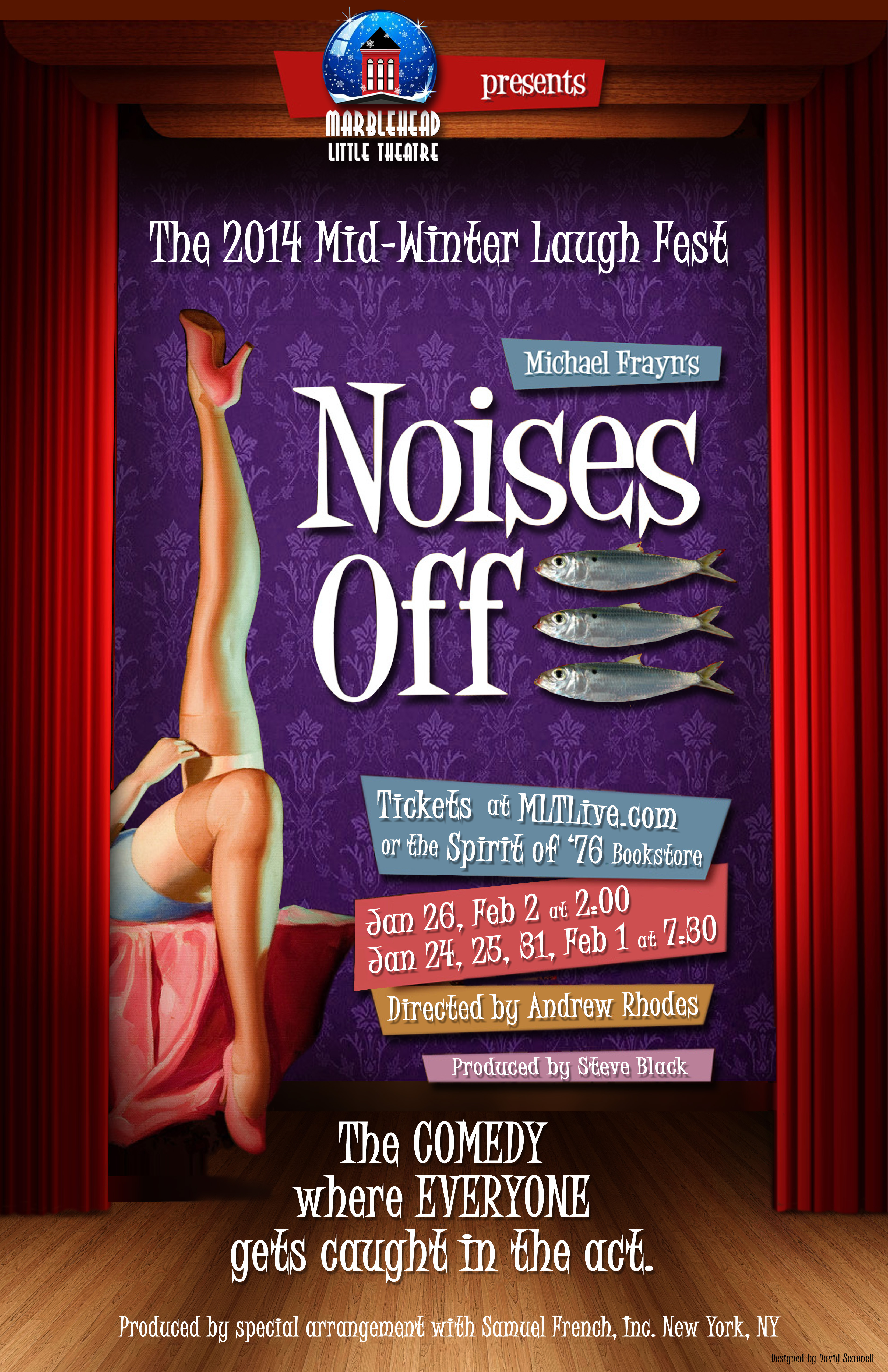 Noises Off! 2 poster