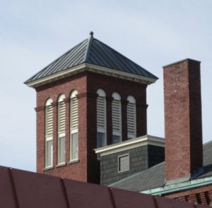 Marblehead Little TheatreTower windows